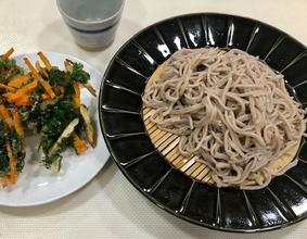 〈お子さまOK!〉ワークショップ『二八そばを打って食べよう・天ぷら付』【5/2(木)18:00~20:30】